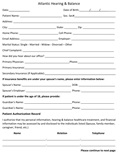 Vestibular New Patient Paperwork-1